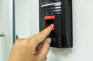 fingerprint reader Singapore